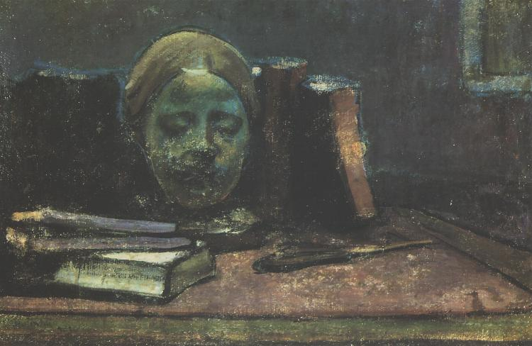 Mask and Books