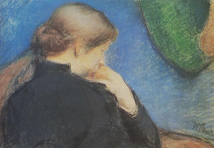 Study of a Woman Sitting