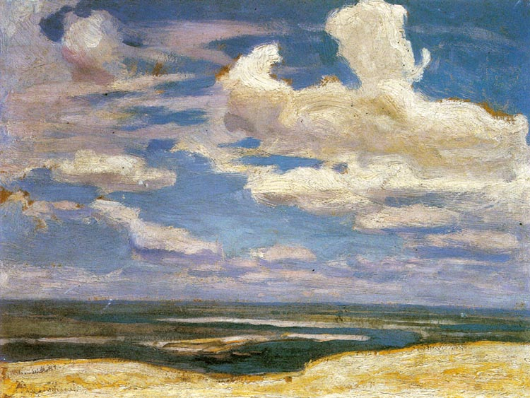 Clouds on the Dnieper