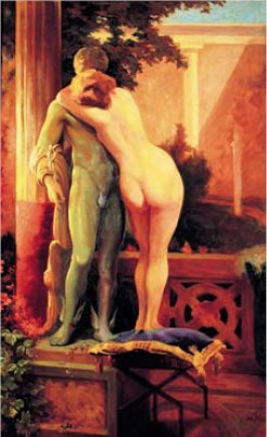 Hermes and Aphrodite