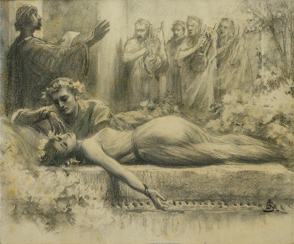 Death of Petronius and Eunice
