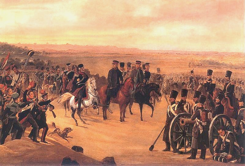 General Chlopicki with Polish Army, 1831