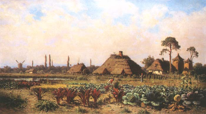 Rural Landscape with a Windmill