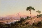 Landscape with a Tall Pine Tree