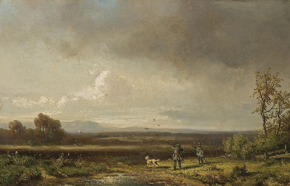 Landscape with Bird Hunters