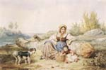 Country Woman with a Child