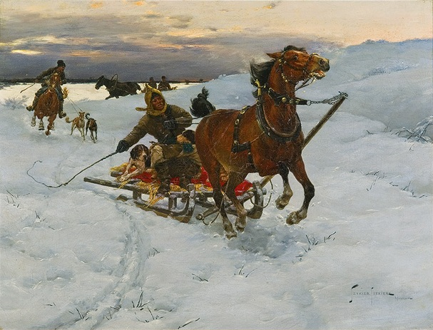Journey in the Snow