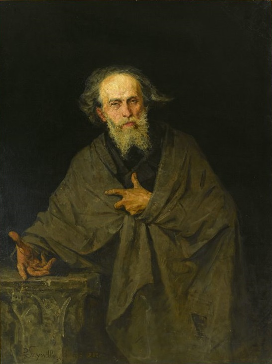 Portrait of Cyprian Kamil Norwid