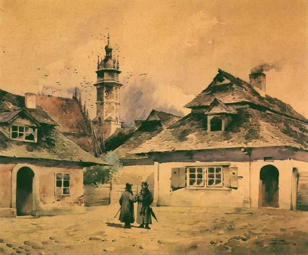 Kazimierz, the Old Jewish District of Cracow