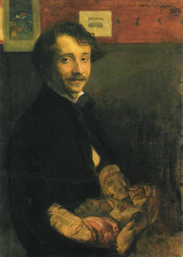 Self-Portrait with Masks