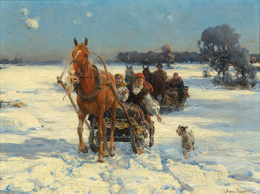 Sleigh Ride on a Sunny Day