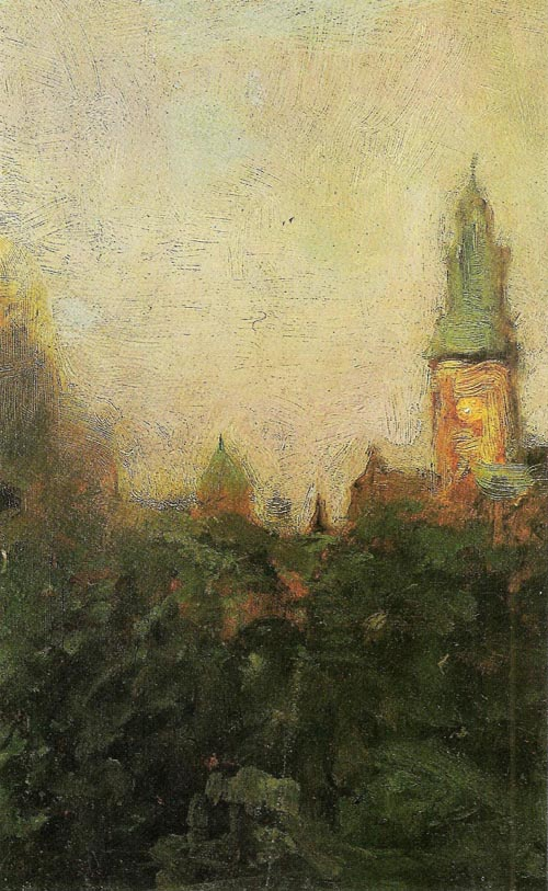 View of the Wawel Castle in Cracow