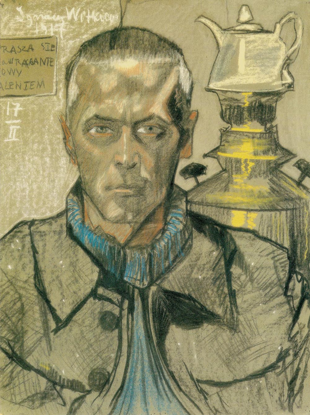 Self-Portrait with a Samovar