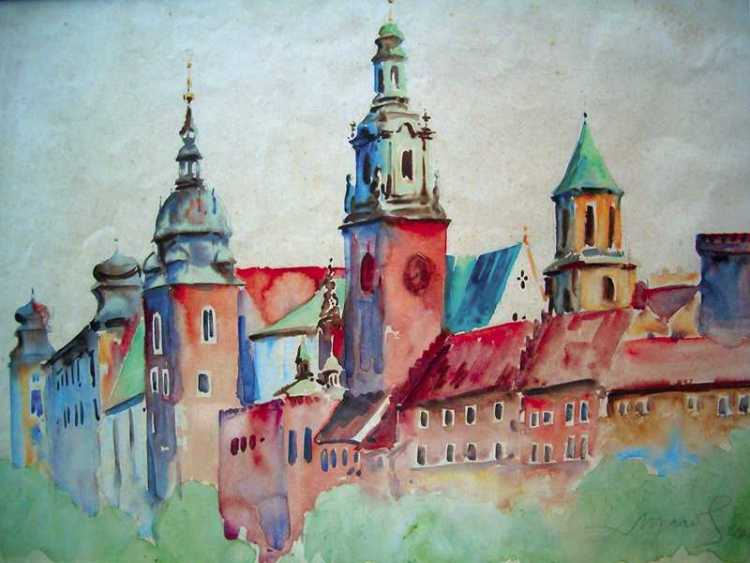 Wawel Castle in Cracow