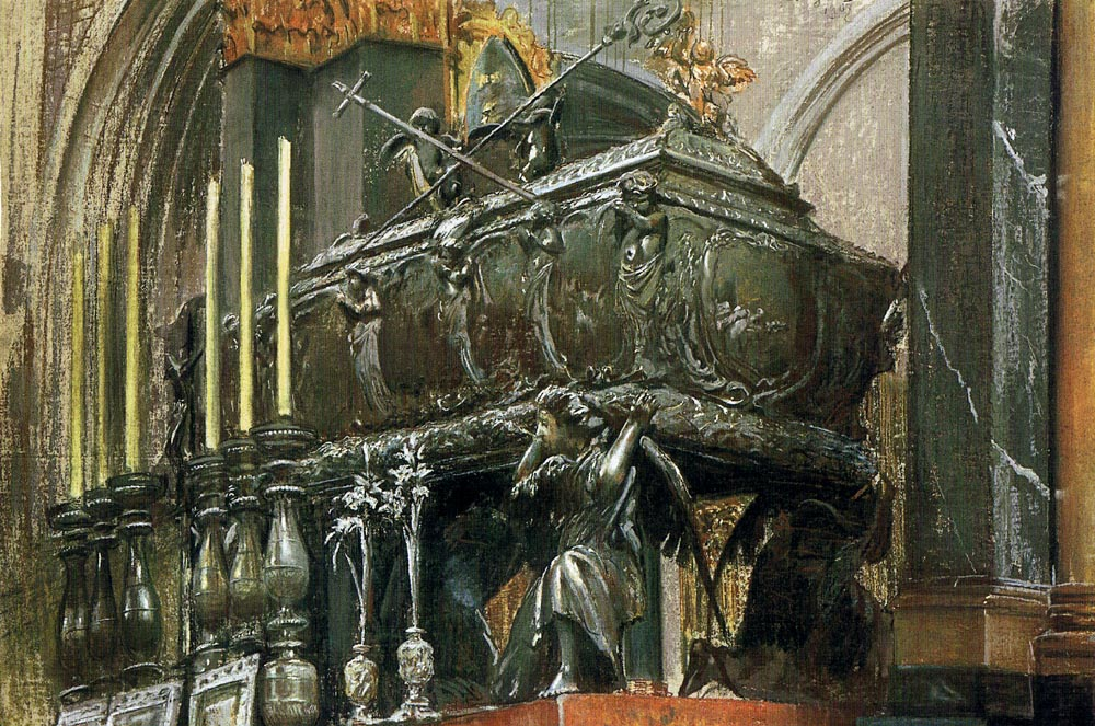 Sarcophagus of St. Stanislaus
