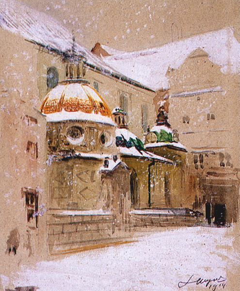 Sigismund's Chapel at Wawel Castle in Cracow