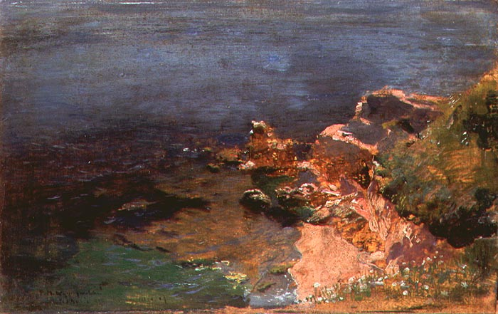 Rocky Coastline of Anzio