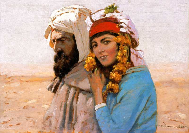Arab with a Girl