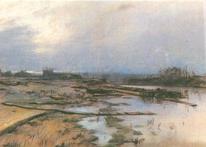 Lowland Landscape with a River