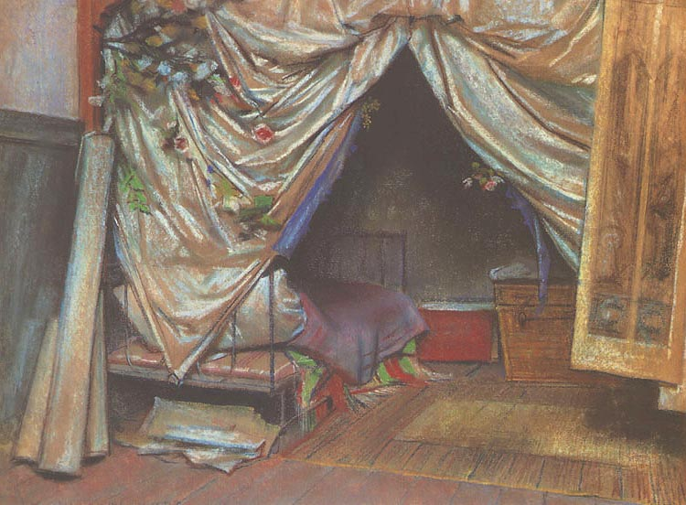 Interior of the Artist's Studio in Paris
