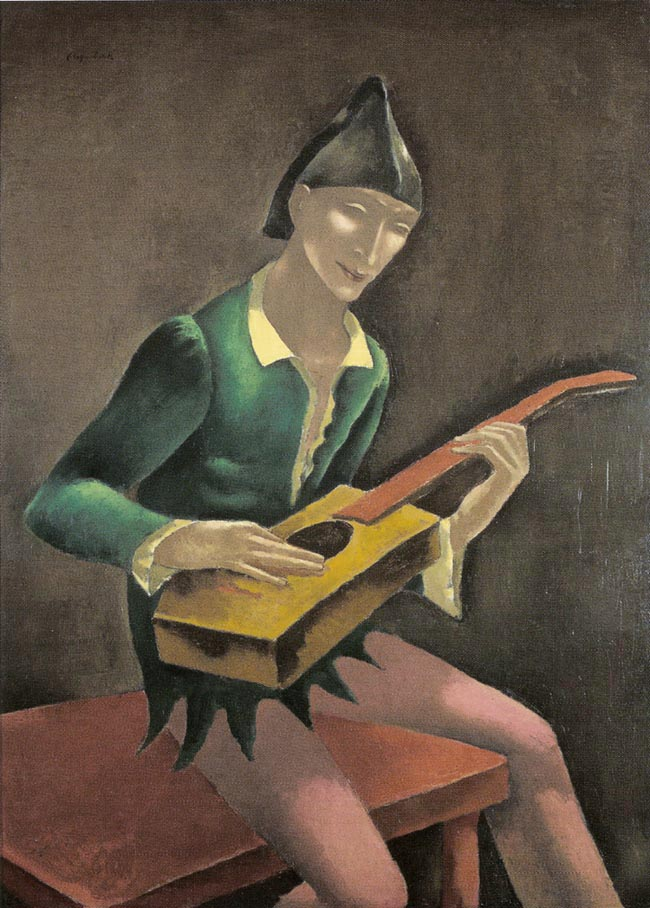 Lute Player (Mandolin Player)