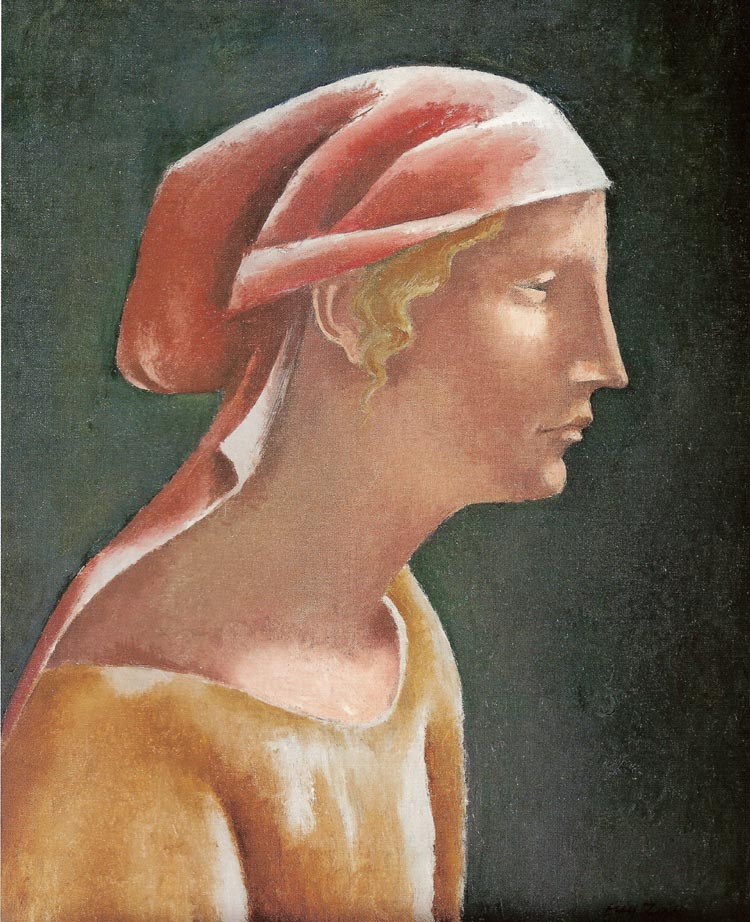 Head of a Girl in Profile
