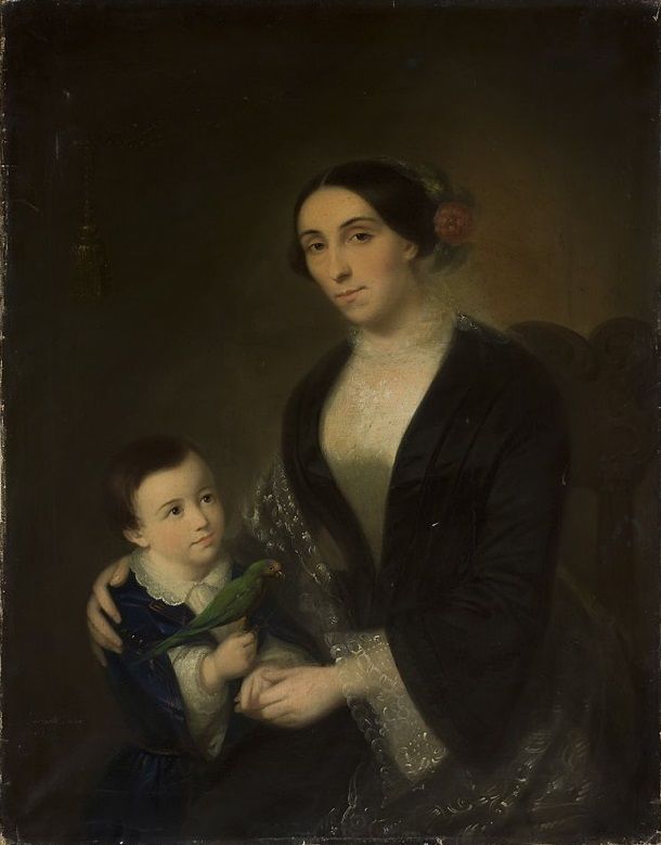 Portrait of a Woman with a Child