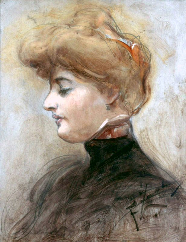 Head of a Blonde Woman (Portrait of the Artist's Wife?)