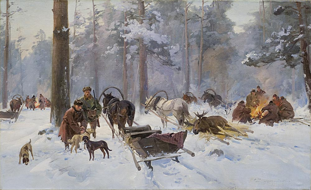 After the Moose Hunt