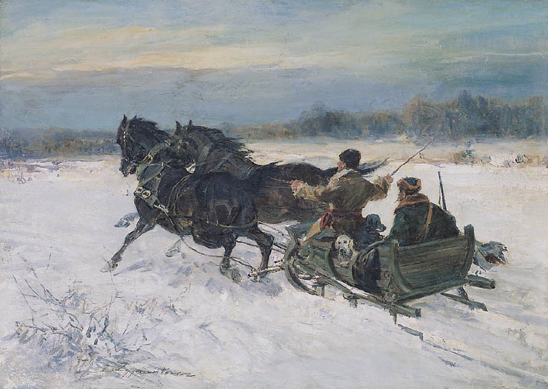 Sleigh Ride, Return from the Hunt